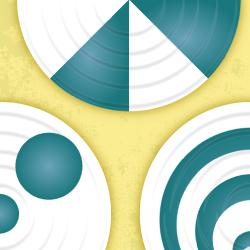 Wirujące tarcze logo