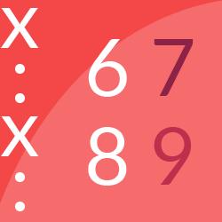 Mnożę i dzielę do 20 przez 6, 7, 8 i 9 logo