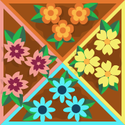 Cztery ogródki logo