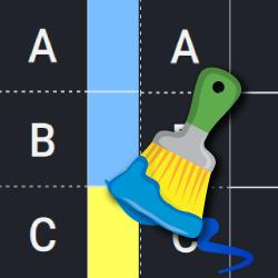 Odwzoruj kolorowe obrazy logo