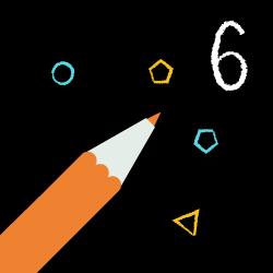 6-latek rysuje logo