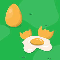 Stłucz jajko logo